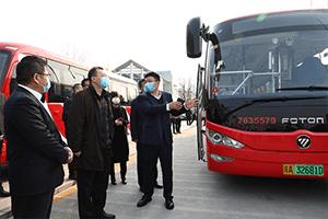 """扎根首都模范区,共圆北京蓝天梦——新一代欧辉新能源客车""""列阵受阅"""""""