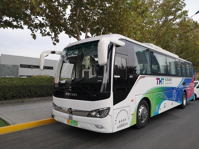 绿色出行 品质之选 福田欧辉BJ6117纯电动城间客车成功交付天津华科