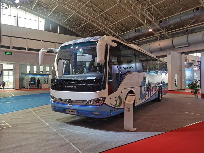 福田欧辉BJ6117纯电动客车亮相第五届中国(北京)国际电动车博览会